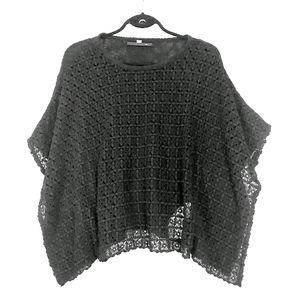 💥2/$20💋Winged Daisy Crochet Blouse NWOT ♡S♡